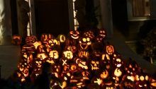 More than 100 Carved Pumpkins