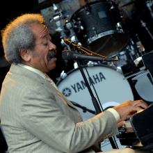 Allen Toussaint, 2009, Stockholm, Sweden (photo via Wikipedia)