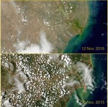 Rio Doce, courtesy of NASA