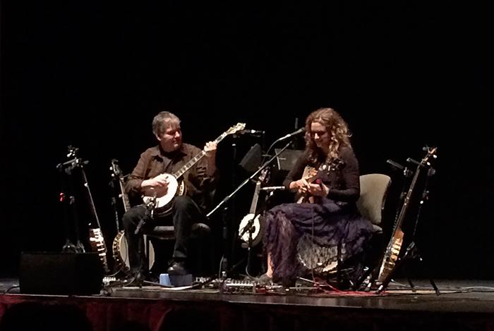 Béla Fleck and Abigail Washburn, Egyptian Theater, February 8, 2016
