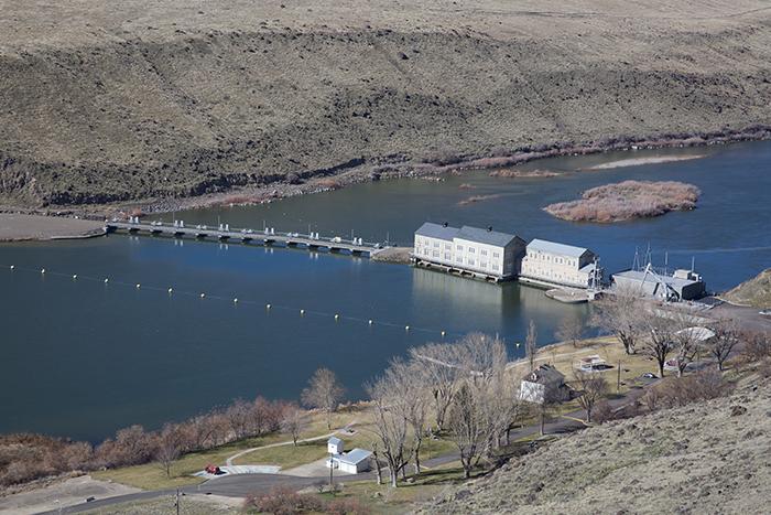 Swan Falls Dam, Snake River Canyon, Idaho