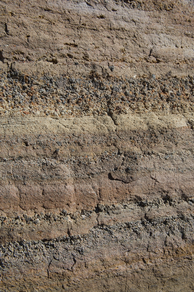 Detail of Ash and Cinder Layers