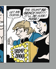 The Donald, by Trudeau, c. 2000
