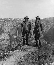 Muir and Roosevelt, Yosemite Valley