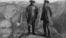 Muir and Roosevelt, Yosemite Valley