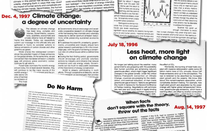 Source: Exxon Records. Credit: Inside Climate News.