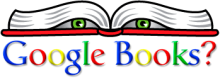 Google Books spying; drawing by Electroinics Frontier Foundation
