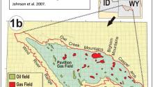 Pavillion Gas Field, Wind River Range, Wyoming