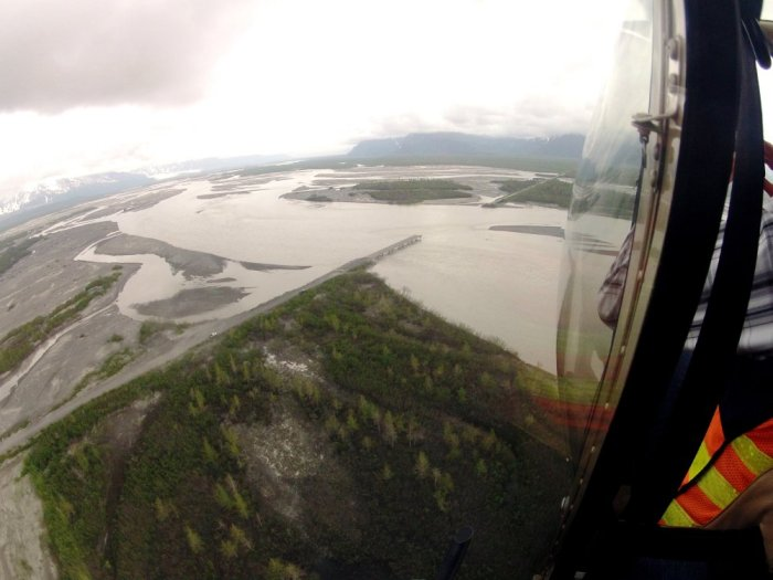 Easterly end of the Copper River Delta, 2012 (ADOT&PF Photo)