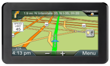 Typical GPS Navigator