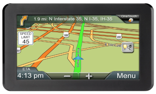 Typical GPS Navigator