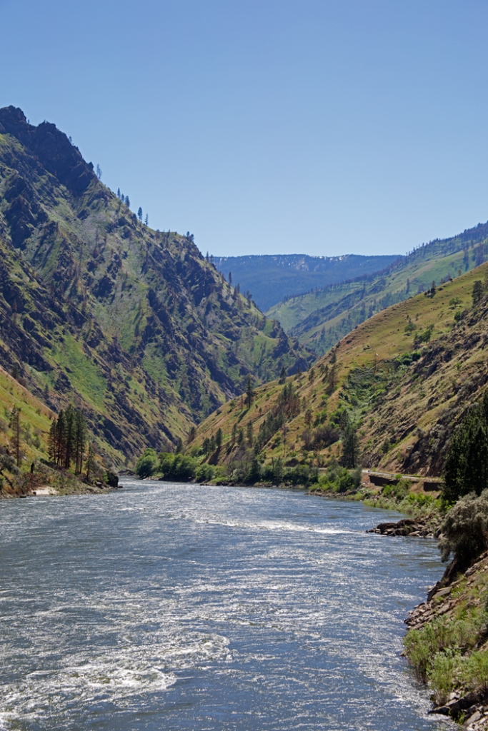 Salmon River and the Salmon River Canyon