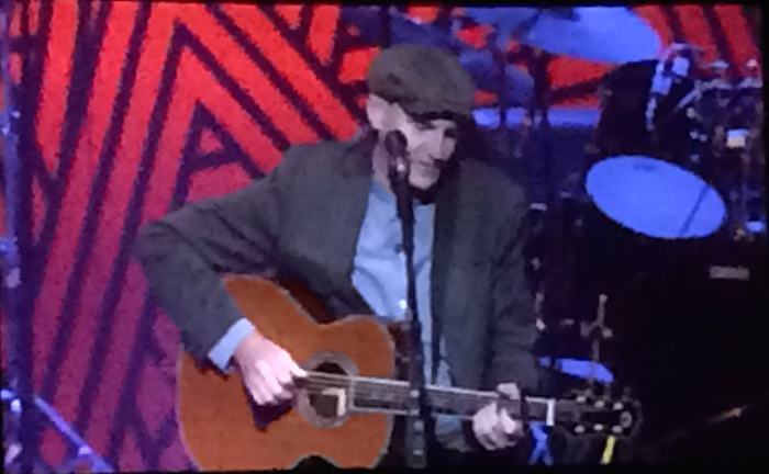 James Taylor, Taco Bell Arena, First Set
