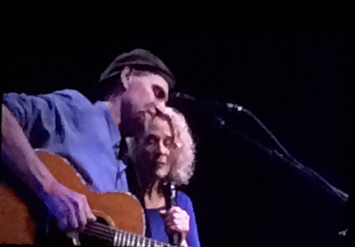 James Taylor and Carole King, Taco Bell Area, Boise