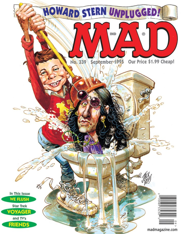 Jack Davis's last cover for Mad Magazine