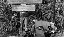 WC Along the Appalachian Trail, 1975