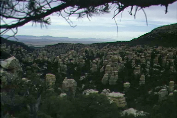 Hoodoos, West Slope, Chiricahua Mountains, Arizona