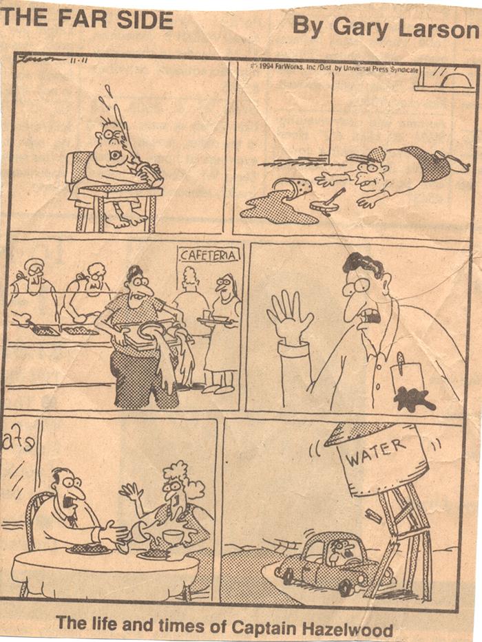 Gary Larson's Far Side, November 11, 1994