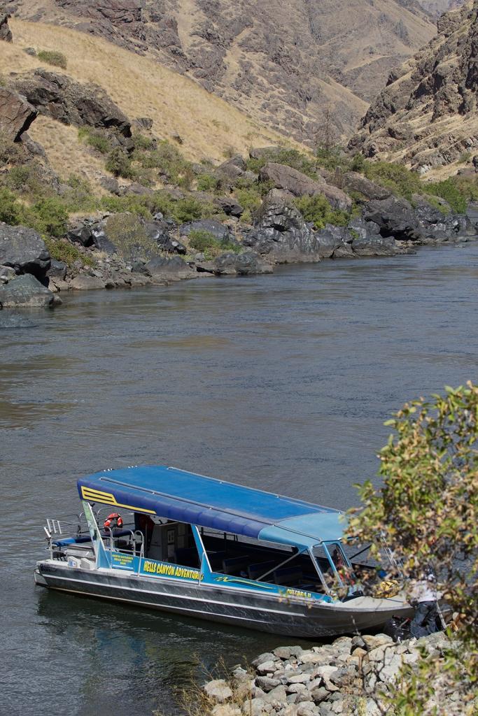 Hells Canyon Jetboat at Kirkwood Ranch