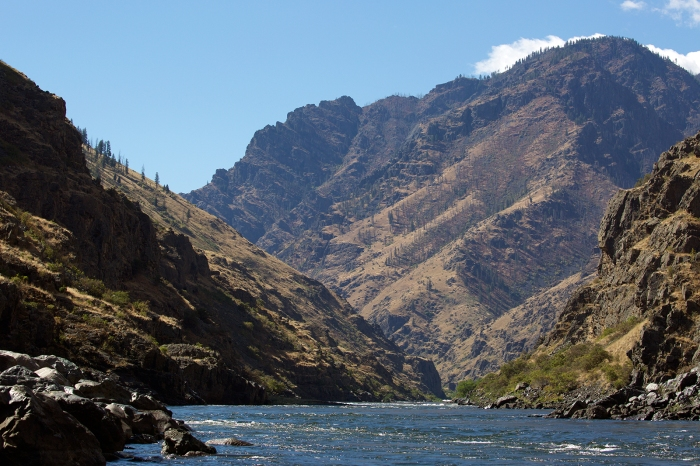 Hells Canyon, looking downstream.