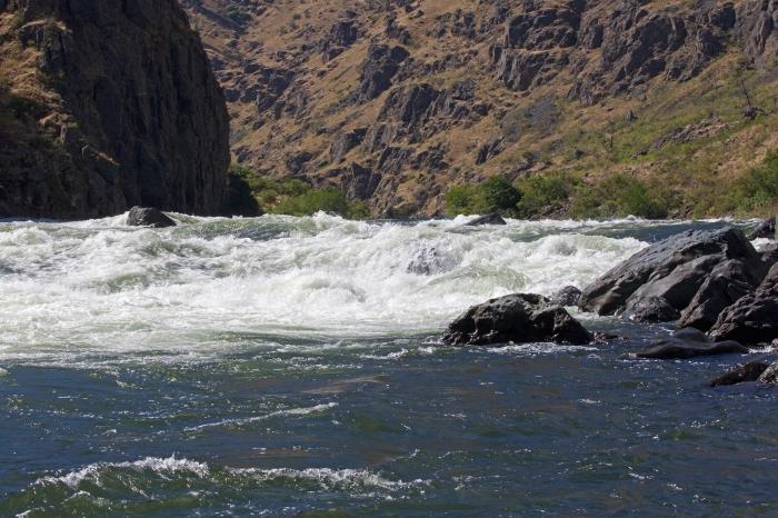 Sheep Creek Rapids, Hells Canyon, Snake River