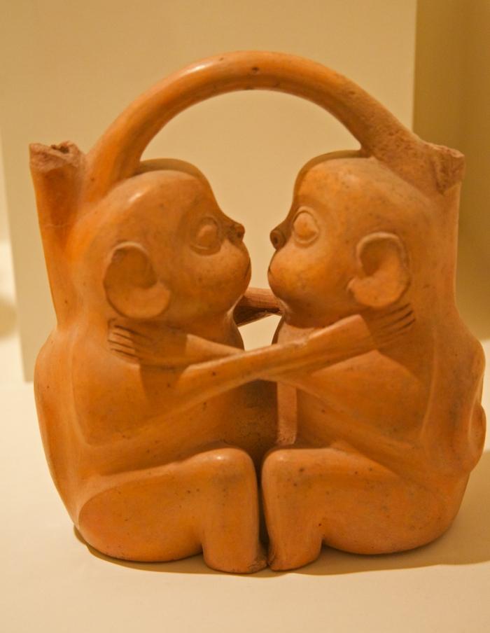 Soft Porn Pottery, Moche Culture, Larco Museum, Lima