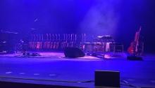 Jackson Browne's Guitars, Vema Morrison Auditorium, Boise. Photo by Mrs. WC.