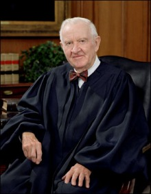 Retired Associated Justice John Paul Stevens (via WikiCommons)