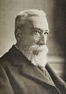 Anatol France, born François-Anatole Thibault. Photo 1921