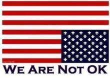 Dire Distress U.S. Flag