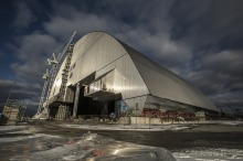 The world's largest mobile metal building re-entombing Charnobyl Reactor #4