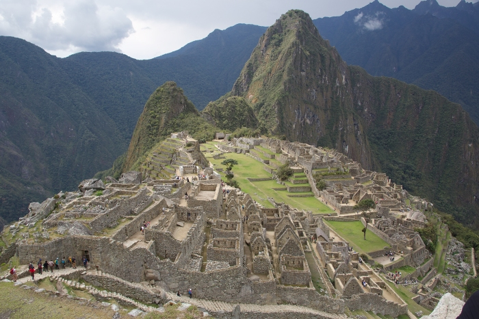 Machu Picchu from the upper platform, October 2016