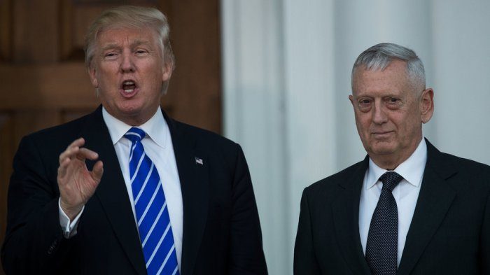 "Gen. James ""Mad Dog"" Mattis, nominee for Secretary of Defense"