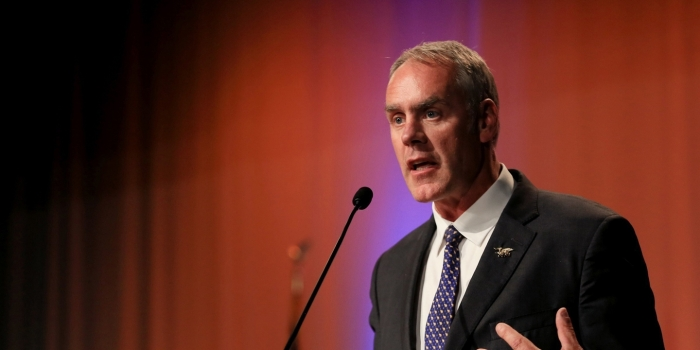 Rep. Ryan Zinke (R, Montana). Photo: Bronte Wittpenn/The Billings Gazette/AP