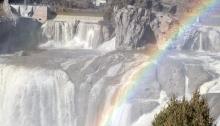 Shoshone Falls, Idaho, Vertical Composition