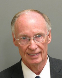 Former Alabama Gov. Robert Bentley (Photo credit Montgomery County Sheriff's office), April 10, 2017