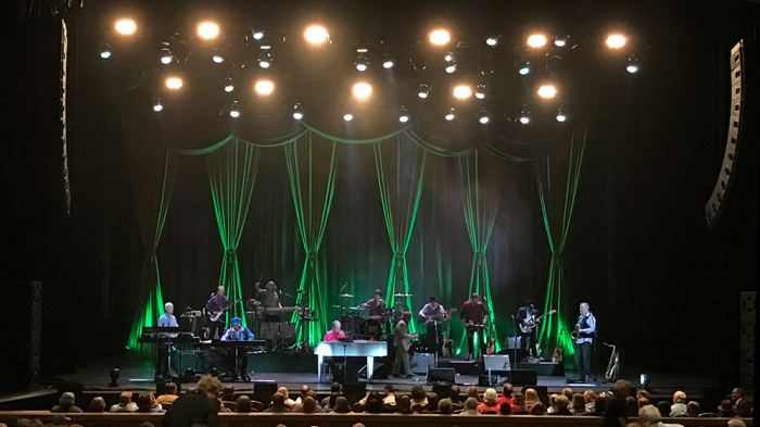 Brian Wilson and Band, Boise, April 6, 2017 (Photo by Mrs. WC)