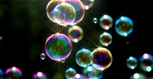 Bright Soap Bubbles