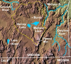 Harney Basin (via Wikipedia)
