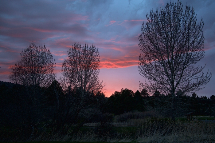 Stormy Sunset, Page Springs Campground, Malheur Nat'l Wildlife Refuge