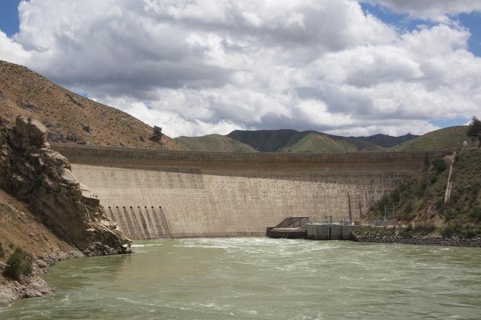 Arrowrock Dam, Boise River, Idaho