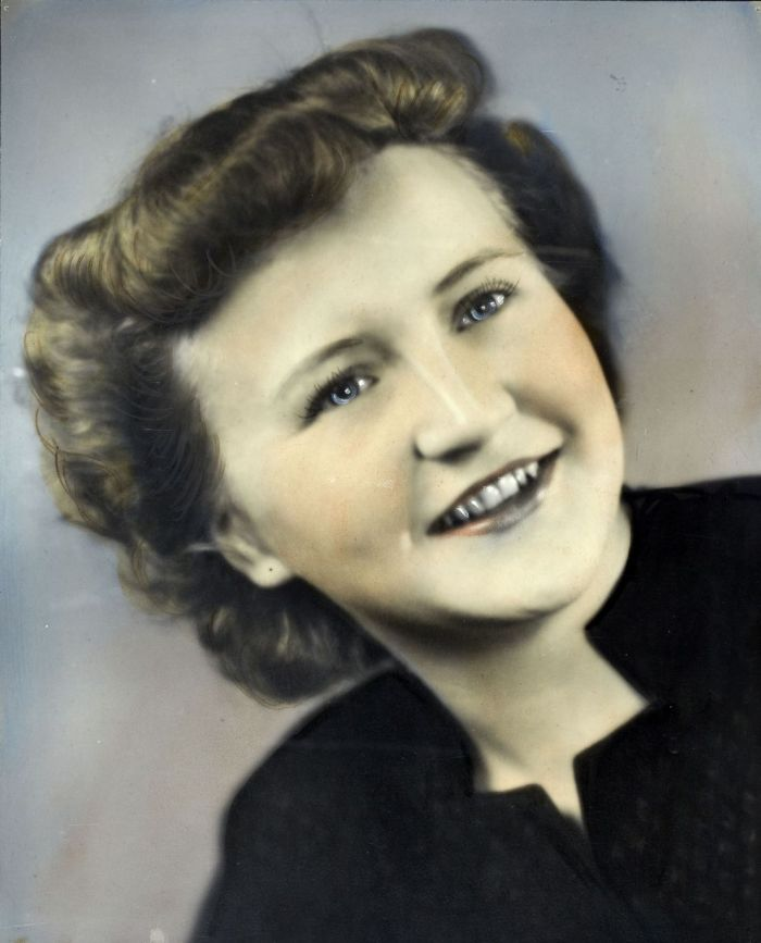 Grace Schaible, pictured in the 1940s (UAF Archives)