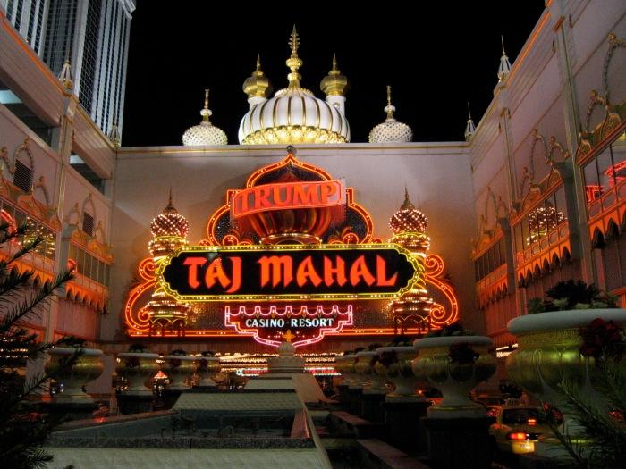 Trump Taj Mahal, Atlantic City, via Wikipedia