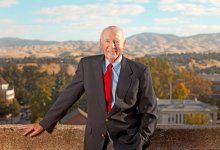 Cecil D. Andrus at his office in Boise, Idaho, in 2001. Credit Katherine Jones/Idaho Statesman, via Associated Press