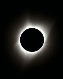 2017 Solar Eclipse Totality, Snowbank Mountain, Idaho