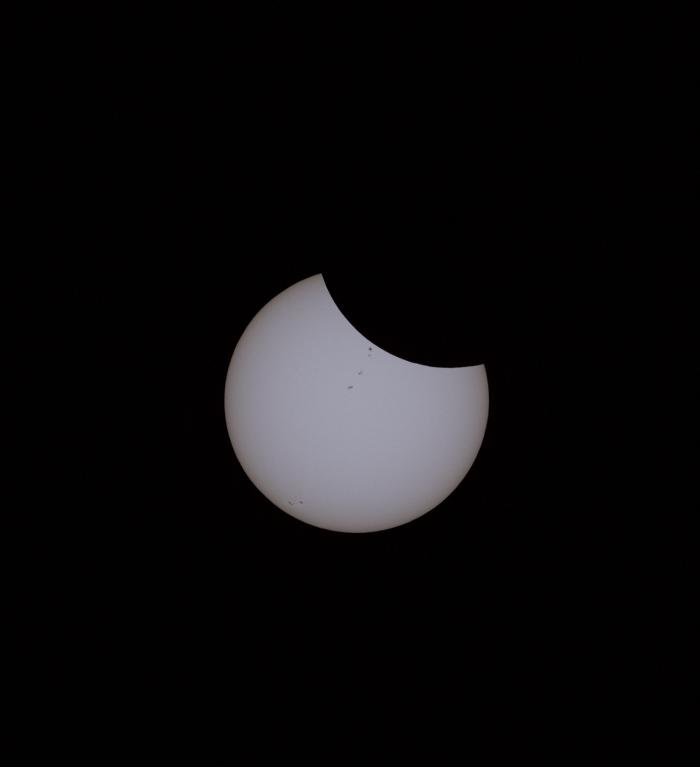 Start of the 2017 Eclipse, Snowbank Mountain, Idaho