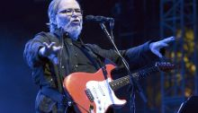 Walter Becker of Steely Dan performs during the 2015 Coachella Valley Music And Arts Festival at The Empire Polo Club on April 17, 2015 in Indio, California. (Photo by Tim Mosenfelder/WireImage)