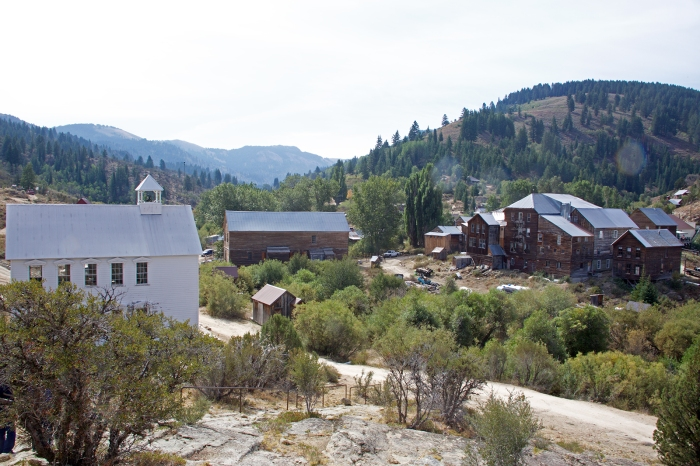 Silver City today, looking southwest from Ou Lady of Tears Church