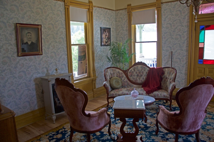 Parlor, Stoddard House, Silver City