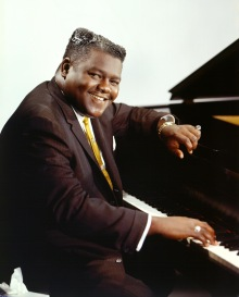 Fats Domino at piano. Credit: Getty Images